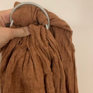 TOWHEE // Chambray wildbird ring sling